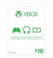 XBOX LIVE 10 EUROS