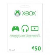 XBOX LIVE 50 EUROS