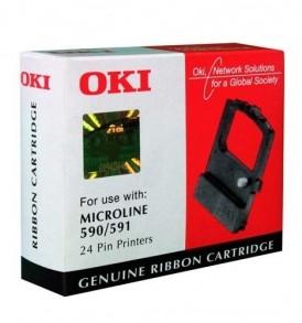 Black Nylon Ribbon for ML590/591 OKI