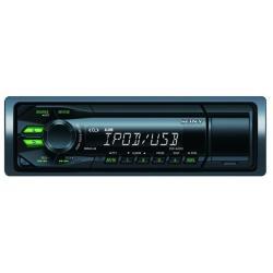 ESTEREO CAR MP3 SIN CD USB F GREEN