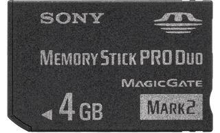 MSTICK PRO DUO 4GB MARK2 SONY