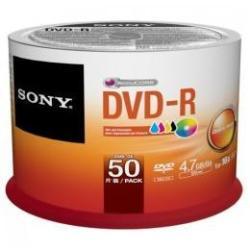 BOBINA 50 DVDR  4.7 GB 16X BULK