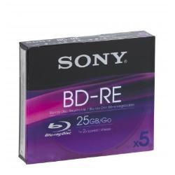 5 BLU-RAY GRABABLE 25GB