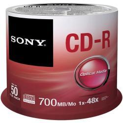 BOBINA 50 CDR 700 MB 80 MIN