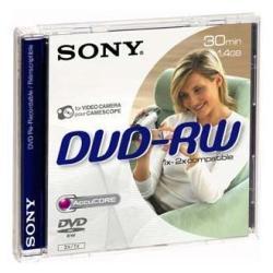 DVD-RW 1.4 8CM JEWELL 1 SONY