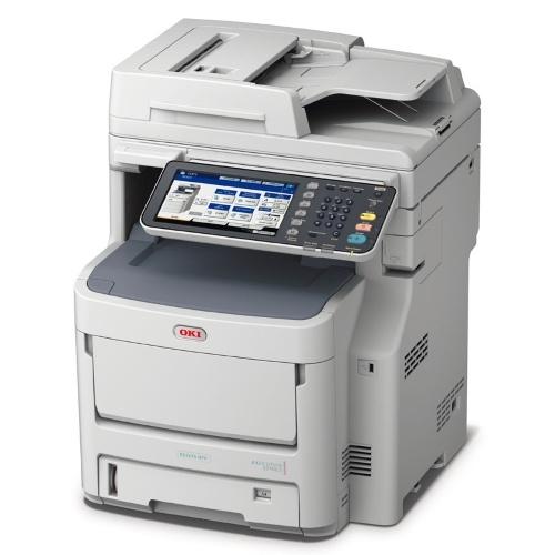 Es7470dfn multifuncion 3 en 1(fax opcional) Plataforma abierta embebida. Impresion y copia 34ppm color/36ppm monocromo. Impresion y escaner LED duplex.Gigabit ethernet.PCL6,Postcript. 2Gb RAM,Disco160 OKI